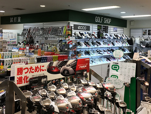 ゴルフプラザアクティブ京王百貨店新宿店